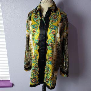 Vintage Fred David Luxury Polyester Pattern Block